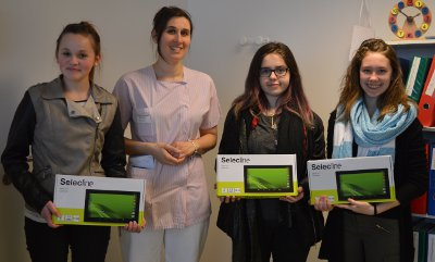 Des tablettes numériques pour le service de pédiatrie