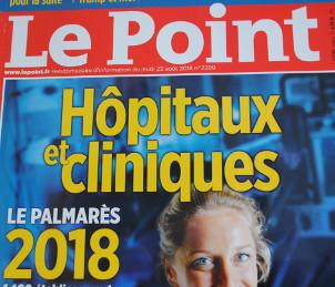 Hôpitaux : palmarès 2018