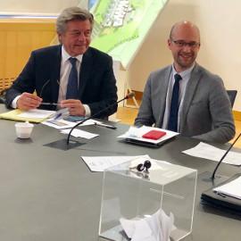 Frédéric Burghard, nouveau président du conseil de surveillance