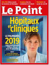 Hôpitaux : palmarès 2019