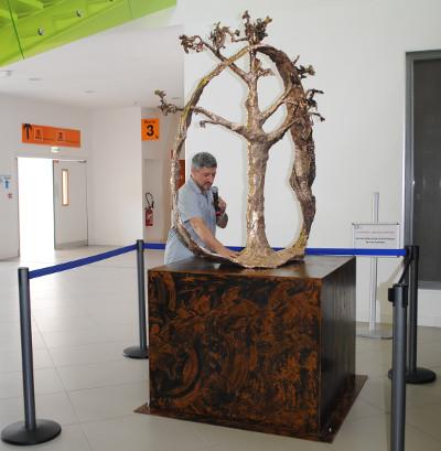 Un arbre de vie en hommage aux donneurs d'organes